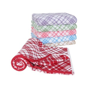 Homewell Bath Towel Jaquard Per Pc Size: W70 x L140cm Assorted Colors