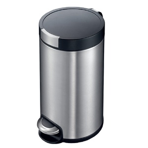 Eko Stainless Steel Step Bin ALEK12 12Ltr