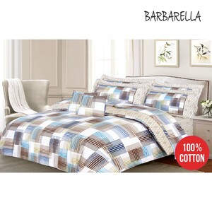 Barbarella Comforter Set Single 160x241cm Beni 3pcs Set
