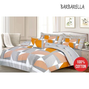 Barbarella Comforter Set Double 193x241cm Cego 4pcs Set