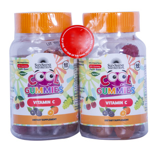 Sunshine Nutrition Cool Gummies Vitamin C 60pcs 1+1