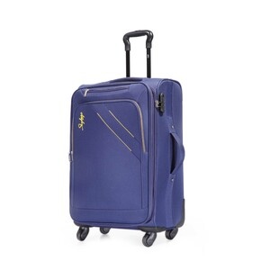 Skybags Mexico 4Wheel Soft Trolley 76cm Blue