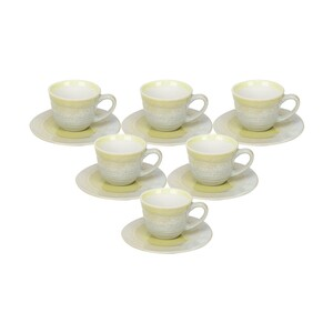Tom Smith Cup & Saucer 6oz PL-793 12pcs KIC
