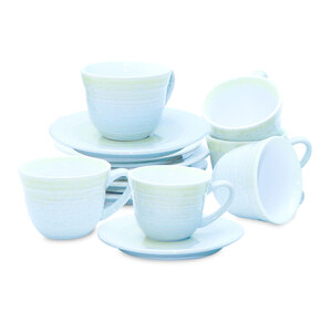 Tom Smith Cup & Saucer 7oz 12pcs