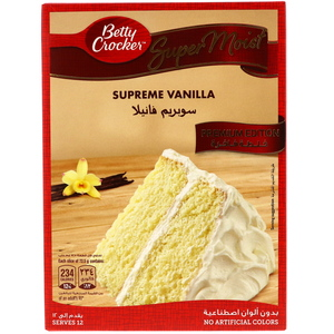 Betty Crocker Super Moist Cake Mix Supreme Vanilla 510g