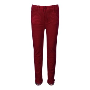 Debackers Girls Corduroy Pants SGM01 Red 2-8Y