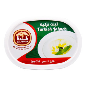 Baladna Turkish Labneh Low Fat 400g