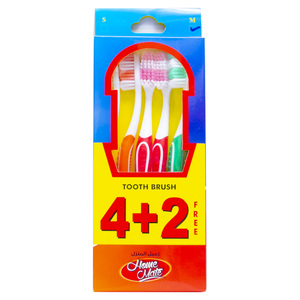 Home Mate Toothbrush Assorted 6pcs