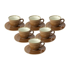 Tom Smith Cup & Saucer 7oz 793 KIC 12pcs
