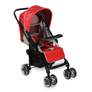 First Step Baby Stroller SK-8 Red