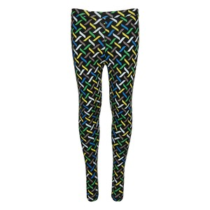 Twin Birds Girls Leggings 26-32 2002 Black-Green 8-14Y