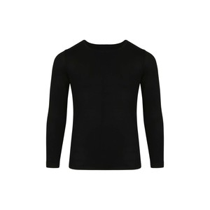 Eten Girls Body Fit T-Shirt Long Sleeve Black 10-16Y