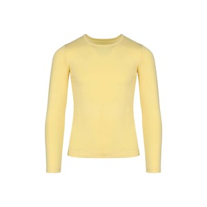 Eten Girls Body Fit T-Shirt Long Sleeve Yellow 10-16Y