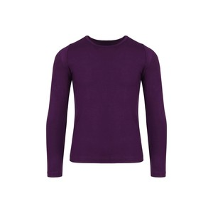 Eten Girls Body Fit T-Shirt Long Sleeve Purple 10-16Y