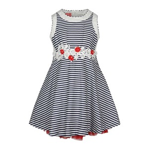 Debackers Girls Cotton Frock Sleeveless MK1847 2-8Y