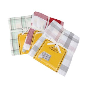 Homewell Table Cloth Cotton 1pc Size: W150 x L225cm Assorted Colors
