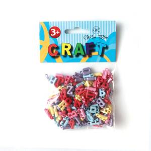 Win Plus Craft Number Beads CFG-62