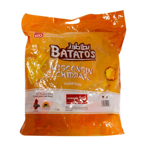 Batato's Wisconsin Cheddar Chips 15g