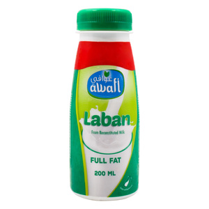 Awafi Drinking Laban Full Fat 200ml