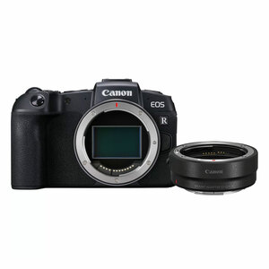 Canon Mirrorless Camera EOS RP Body + Mount Adapter EF-EOS R