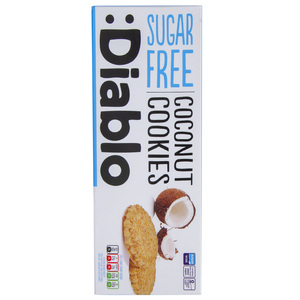 Diablo No Added Sugar Coconut Cookies 150g
