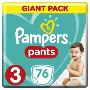 Pampers Pants Size 3 6-11kg 76pcs