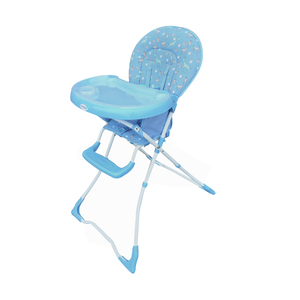 First Step Baby High Chair CA Blue