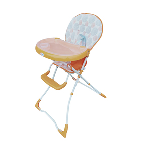 First Step Baby High Chair CA Orange