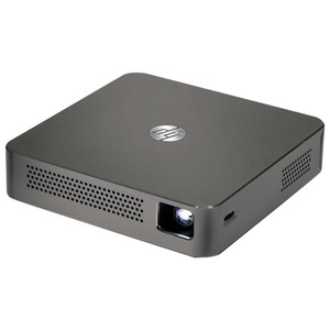 HP MP100 854 X 480 up to 100 Lumens DLP Mobile Projector