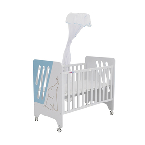 First Step Baby Bed P-505-Z Blue