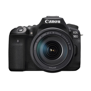 Canon DSLR Camera EOS 90D EF-S 18-135 IS USM Kit