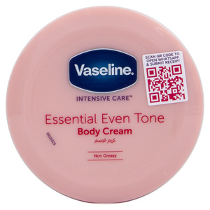 Vaseline Intensive Care Essential Even Tone Body Cream 120ml