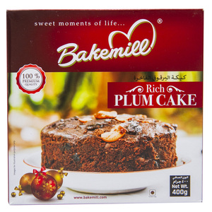 Bakemill Rich Plum Cake 400g