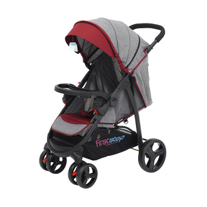 First Step Baby Stroller With Car Seat C6798-ZY Red