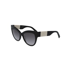 Longchamp Women's Sunglass 649S55 Butterfly Black