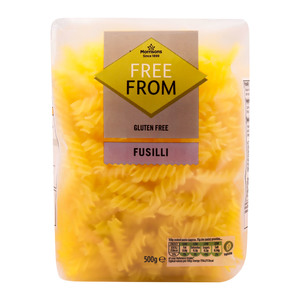 Morrisons Free From Fusilli Pasta 500g