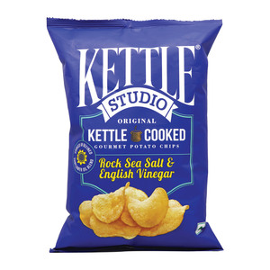 Kettle Studio Chips Rock Sea Salt & English Vinegar 125g