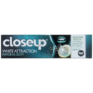 Closeup White Attraction Toothpaste Coconut Extract & Bamboo Charcoal 75ml