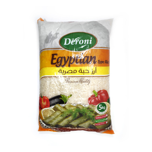 Deroni Egyptian Type Rice 5kg