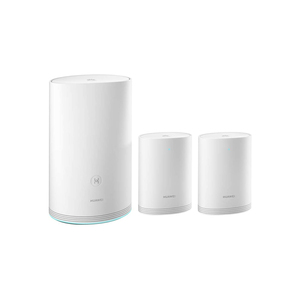 HUAWEI HUW-WS5280-1PLUS2-WHT (1 Base + 2 Satellites) Router, Home Wi-Fi Q2 Pro System