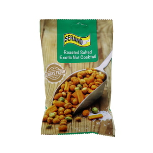 Serano Roasted Exotic Nut Cocktail Salted 150g