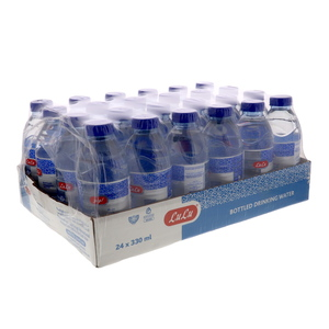 Lulu Bottled Drinking Water 24 x 330ml
