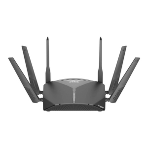 D-Link DIR-3060, EXO AC3000 Smart Mesh WI fi Gaming Router, Tri-band, 802.11 AC Wave 2 with MU-MIMO, Gigabit WAN, 4 x Gigabit LAN, Alexa Compatible, Built-In Mcafee Protection