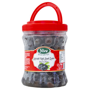 Yore Dried Black Olives 700g