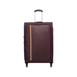 Skybags Terrain 4Wheel Soft Trolley 57cm Maroon