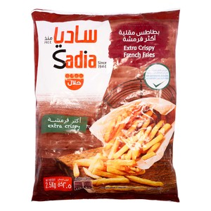 Sadia Extra Crispy French Fries 2.5kg