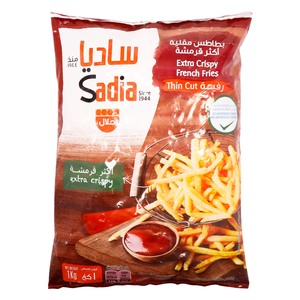 Sadia Extra Crispy French Fries Thin Cut 1kg