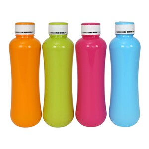 Joyful Plastic Bottle CLASSIC 4pcs Assorted Colors