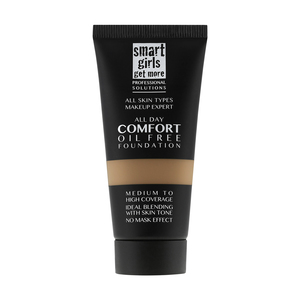 Smart Girls Get More All Day Comfort Foundation 04 Toffee 1pc