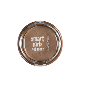 Smart Girls Get More Bronzing Powder With Pearl Finish 02 1pc